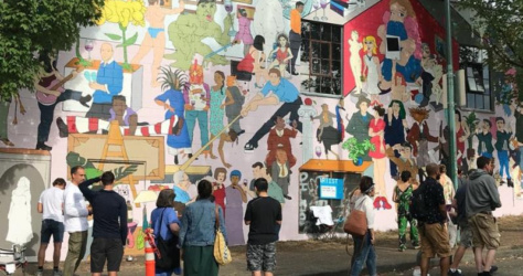 Preview of the mural
